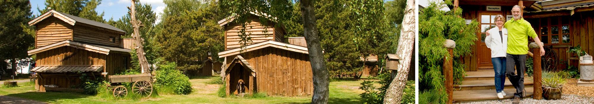Western Camp hytter og ejere